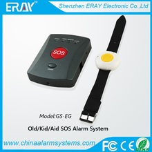wireless SOS calling alarm system old/kid/aid emergency help