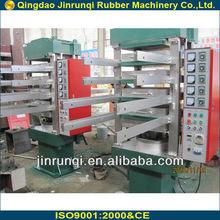 Column type rubber tile plate vulcanizing press/rubber vulcanizer/rubber vulcanizing machine 50t 550*550*4