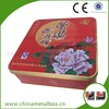 Packaging boxes White logo Cans Rectangle Cookie Tin
