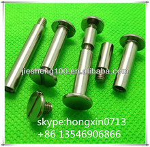 Manufacturer sales high quality fastener male and female screw,screw for menu