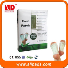 2015 Relax Detox Foot Patch with CE 10pcs Per Box