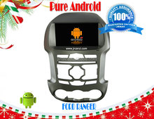 Android 4.1 car auto audio DVD navigation system Ford Ranger ,3G , WIFI ,capacitive screen