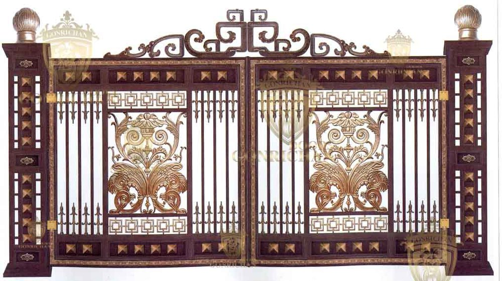 Front Door Designs Wrought Iron Villa Gate Designs
