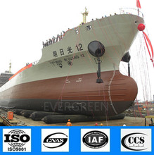 buy 10 years using life Marine barge airbags for shipyard use often in Batam shipyard