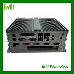 Pure aluminum case for industrial pc Iwill IBOX300 fanless pc mini itx case