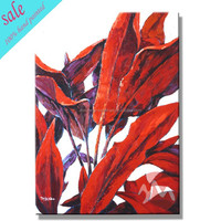 Winsor newton oil paint tropical style wall picture