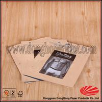 Professional Custom photo print slide zip lock plastic bag for socks