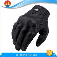 Professional Goat Leather Motorcycle and Go Cart Gloves