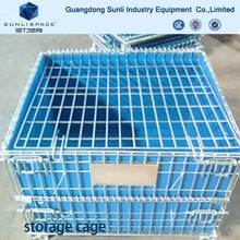 Stainless Collapsible Metal Pallet Box
