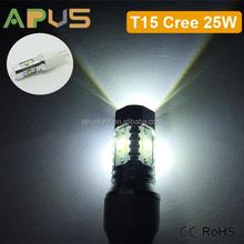 Best quality original CR.EE 25W 921 T15 12V car led bulb