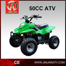 JLA-02-01 atv manual clutch 4 stroke air cooled loncin 50cc dirt bike for kids