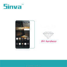 Anti Oil 0.33mm Round Edge Hot Sale Tempered Glass Screen Protector for Huawei P8 with Fast Delivery