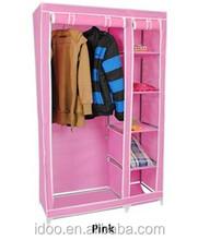 2015 Morden simple wardrobe/ folding wardrobe/ space saving wardrobe design