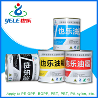Fast drying eco solvent ink for PVC