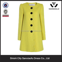 2015 The Best Service Retailer + High Quality Fashion Design Young Ladies Coats