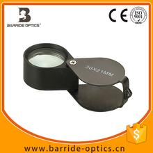 30x21mm Aluminum Jewelry Magnifier Eye Loupe (BM-MG6002)