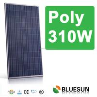 Bluesun high quality 100W 200W 250W 300W 310W Mono and Poly pv solar panel/module