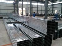 Pregalvanized light weight Steel C Purlin for buliding usage