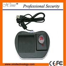 Good quality fingerprint scanner fingerprint sensor with card reader 125KHZ and 13.56mhz smart card reader