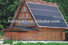 High efficiency 15KW by IPM or IGBT of Mitsubishi technology solar module system
