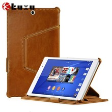 Leather material Universal 8 inch phone bag for sony z3 with high quality