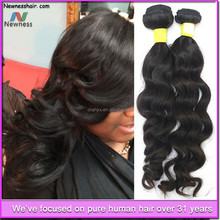hot sale and best price tangle free and shedding free long lasting virgin eurasian deep wave hair extensions