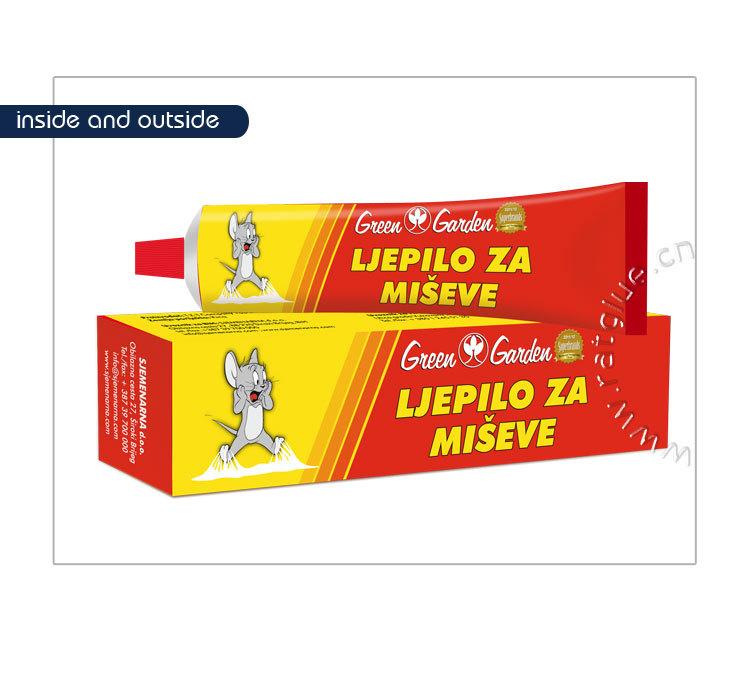 Wholesale good quality rat trap glue rat glue tube tubo de cola de