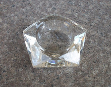 Faceted Star Crystal Tealight Holder For Wedding Favors low price wholesale