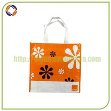 China manufacturer laminated shopping pp woven bag