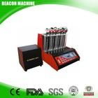 Bc-8h 8 cilindros de combustível máquina de limpeza injector e injector de combustível mais limpo com