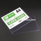 Made in China JX-904 arquivamento produtos de PVC A4 titular arquivo de plástico