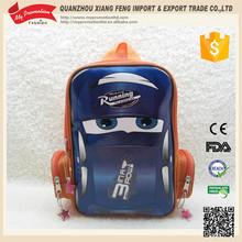Hot New Style car design EVA Backpack 2015 School Bag for boys