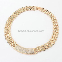 hot sale different types of necklace chains jewelry
