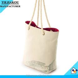 wholesale canvas tote bag ladeis cute bag