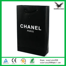 Premium Shadow Stripe Colored Kraft Shopping Bags (directly from factory)
