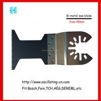 45mm fast cutting rate Bi-metal oscillating saw blade
