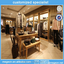 garment store retail product display fixtures
