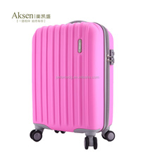 3 sizes set Matte Finish Decent Trolley Luggage For Women
