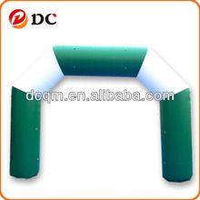 Inflatable Green and White Arch