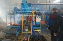 advanced new style economical eco-friendly wood sawdust charcoal briquette making machine with CE