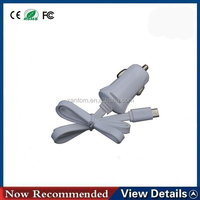 Micro USB Cable Car Charger with USB for Samsung Galaxy S IV / for i9500