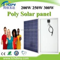 Tontruhuda Brand !!! 100w 200w 250w 300w China Cheap PV 12v Solar Panel for Sale