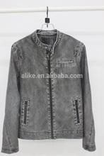 por igual el último diseño de cuero de la pu chaqueta de cuero de la chaqueta para hombre