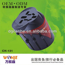 Brand New OEM AUS/UK/EU/US plugs universal adapter for smartphone with CE FCC ERP ROHS approvel