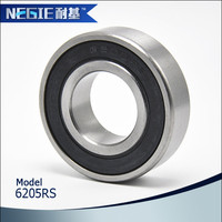 china supplier Cixi Negie factory made high precision speed 6205 motorcycle engine bearing