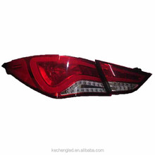 top seller!!! 2 year warranty new design plug and play 12v rear led tail lamp for Hyundai Avante update model
