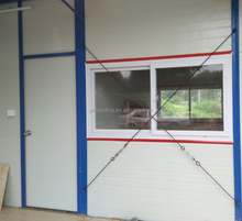 movable light steel structure house for construction site dormiotry,office