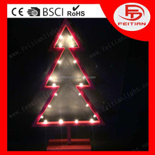 CE&ROHS new christmas decorative with tree holiday led decoration lights