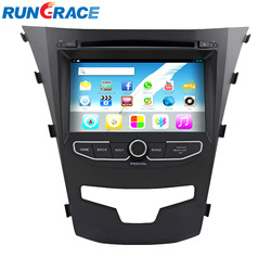 RUNGRACE 2 din 7 inch Car DVD Player for Ssangyong Korando Android 4.2 touch screen Car DVD Player