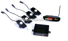 digital TFT LCD monitor parktronic + Alarm + Camera with 4 flat parking sensors